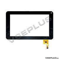 Тачскрин (сенсор) под китайский планшет GoClever TAB R70, FPC-TP070072, DR1334-00, черный, 7.0 inch