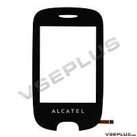 Тачскрин (сенсор) Alcatel 602D One Touch, черный