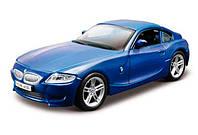 Модель автомобиля BMW Z4 M Coupe синий, 1:32, Bburago (18-43007-2)
