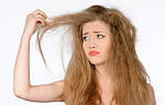 Как оживить сухие волосы