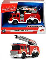 Машинка Пожарная служба со звуком, светом и водным эффектом 15 см  Dickie (330 2002)