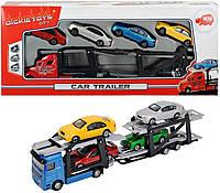 Автотранспортер с машинками, 28 см, 2 вида Dickie Toys 3745000 (374 5000)