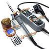 Yihua 908+ 220В 60Вт электрический утюг паяльная станция термостат для смт SMD ремонтной сварки переделки