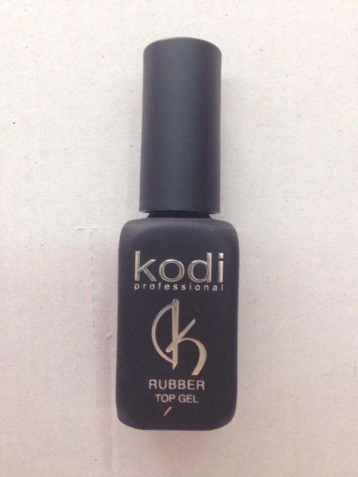 Rubber Top Kodi (Каучуковое верхнее покрытие для гель лака) 12 мл