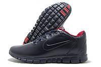 Кроссовки мужские Nike Free 3.0 L8 темно-синие с красным (найк)