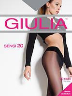 Капроновые женские колготы Giulia SENSI 20 den (разные цвета), 52/69