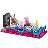 Детский конструктор Peppa Pig Идем в школу 4 Фигурки 18 Деталей (06032)