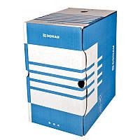 Бокс для архівації докум., 200мм, синій7663401PL-10
