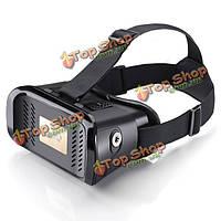 Виртуальная реальность MV100 В.Р. 3d очки оголовье игры шлем Google картона магнит кино для 3.5 до 6 дюймов смартфон