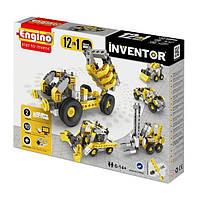 Конструктор серии INVENTOR 12 в 1 - Строительная техника (1234)