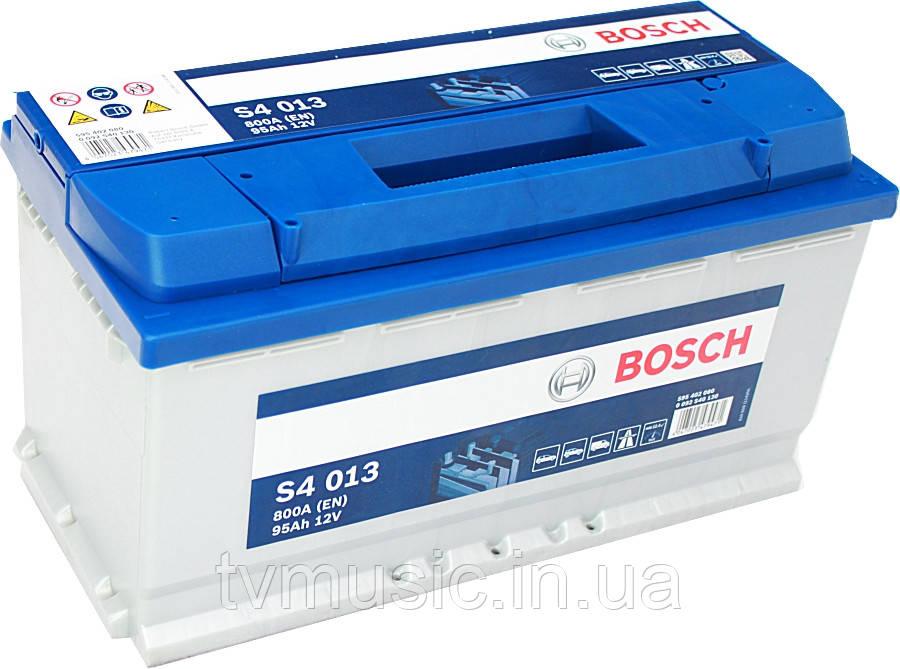 Аккумулятор Bosch S4 013 Silver 95Ah 12V (0092S40130)