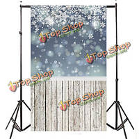 3x5ft 150x90см винил рождественские snowfake ребенок студия фон фотографии фото фон