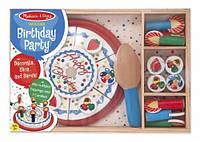 Деревянный набор Birthday Party Melissa & Doug MD10511 (MD10511)