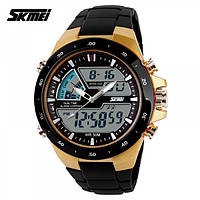 Часы наручные водостойкие 5АТМ Skmei 1016 (unisex)