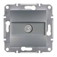 Розетка SCHNEIDER ASFORA EPH3200262 TV проходна (4 дБ) сталь