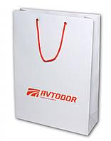 Пакет бумажный с логотипом (140х150х60 мм) №9