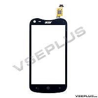 Тачскрин (сенсор) Acer V370 Liquid E2 Duo, черный
