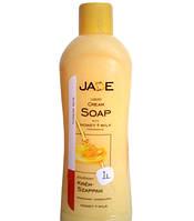 Жидкое крем-мыло Jade Мед и Молоко1000 мл
