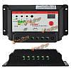 Интеллектуальные 12v 24v ШИМ заряд панели солнечных батарей регулятора контроллер автоматического аккумулятора 10A 20A для опционного