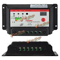 Интеллектуальные 12v 24v ШИМ заряд панели солнечных батарей регулятора контроллер автоматического аккумулятора 10A 20A для опционного, фото 1