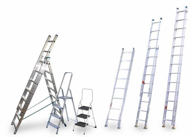 Алюминиевые лестницы и стремянки VIRASTAR