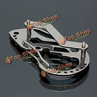 EDC мульти карманный инструмент карабин отвертки ключ механизм брелок для ключа клип брелок папку