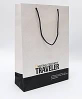 Пакет бумажный с логотипом (320х220х80 мм) №17