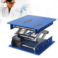 4 * 4-дюйма лаборатории подъемник подъемные платформы стоят стойки оксида ножничные лабораторного подъема алюминия