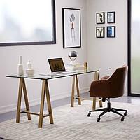 Письменный стеклянный стол