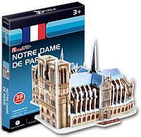 Трехмерная модель Собор Парижской Богоматери мини, CubicFun S3012h (S3012h)