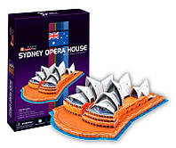 Трехмерная модель Сиднейский оперный театр, CubicFun C067h (C067h)