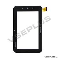 Тачскрин (сенсор) под китайский планшет Blu book, 070-082C, fpc-TP070055, 88-NO, черный, 7.0 inch