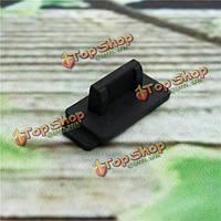 20шт черный резиновый силиконовый защитный пыле штекер USB крышка стопор для ПК TV Box портативный компьютер