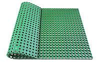 Грязезащитный ячеистый резиновый коврик  1000*1500*16мм