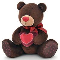 Медведь, сидящий с сердечком, 20 см, Choco & Milk, Orange (C003/20)