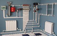 Отопление монтаж, Твердотопливное отопление для частного  дома