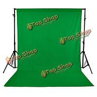 1.6x3 метра 5x10ft зеленый нетканое фотостудия фон