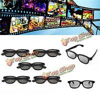 5шт пассивных поляризованных 3D очки для Panasonic LG Sony Samsung 3D-телевизоры монитор 3D кино фильм