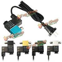 Co2 agnetic электромагнитный клапан DIY автоматический выключатель электромагнитный клапан регулятора 110В 220В