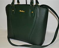 Женская сумка зеленая, копия