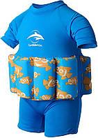 Купальник-поплавок Konfidence Floatsuits, Цвет: Clownfish 4-5 г (FS03-B-05) (FS03-B-05)