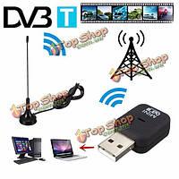 DVB-T цифровой ТВ приемник тюнер клюшка донгл экранном аудио АЦП в формате MPEG-2 MPEG-4 шт USB 2.0