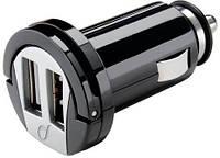 "Зарядное уст-во ""прикуриватель"" Interphone 12V Dual USB Micro Car Charger"