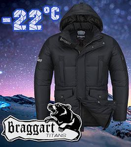 Тёплая мужская куртка Braggart