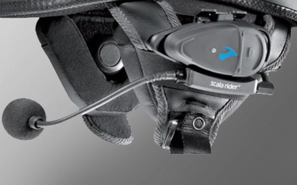 Аудио набор-база Scala Rider Q2,Solo,FM для полу лицевых шлемов