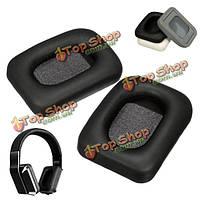 Замена черного earpad амбушюры подушки для монстра вдохновение искусственная кожа наушников