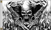 Флаг Hot Leathers Assassin Skull