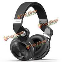 Bluedio T2 Plus складная Bluetooth  наушники BT поддержки 4.1 FM-радио Micro SD карта музыка телефонные звонки