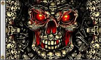 Флаг Hot Leathers Skull Made of Skulls