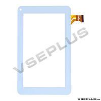 Тачскрин (сенсор) под китайский планшет CZY6347B01-FPC, XC-PG0700-108B-A1, белый, 7.0 inch, 111 х 186 мм.